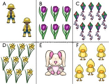 Spring Count The Room Then...Add &/or Subtract For Numbers 0-10!