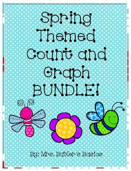 Spring Count and Graph BUNDLE - #s 1-5 and 1-10