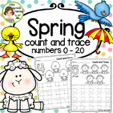 Spring Count and Trace Numbers 0 - 20 (independent work -D