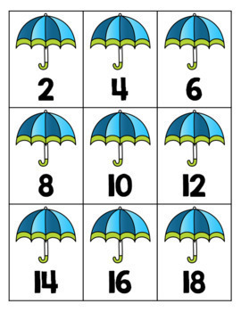 Spring {Count by 2's, 5's and 10's}