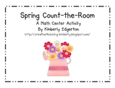 Spring Count the Room Math Activity