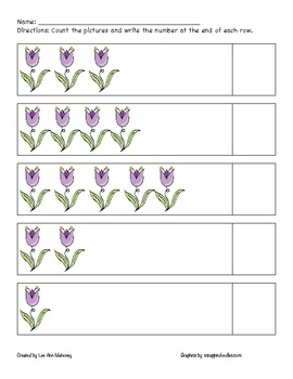 Spring Counting 1-5