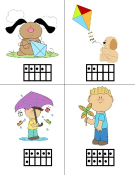 Spring Counting 11-20 with Tens Frames and Base Ten Blocks