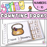 Spring Counting Adapted Books for Special Education