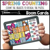 Spring Counting BOOM CARDS™ Digital NO PREP