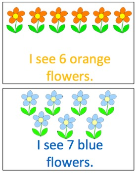 Spring Counting Book- Pecs Included