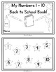 Spring Numbers 1-20 Ten Frames Booklets