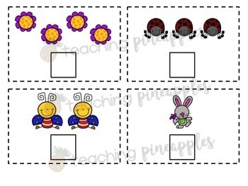 Spring Counting Cards