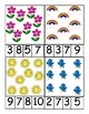 Spring Counting Clip Cards