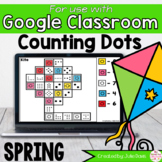 Spring Counting Google Classroom Digital Game Distance Learning