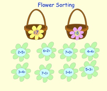 Spring Counting Interactive SMARTboard lessons for Kinders