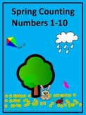 Spring Counting Math Workbook