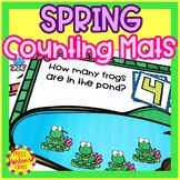 Spring Counting Mats Numbers 0-10   Spring Math Books