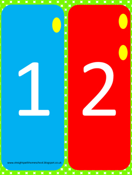 Spring Counting Pack Numbers 1 - 10