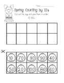 Spring Counting by 10's