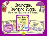 Spring Counting with 5 Frames Bundle {Subitizing}