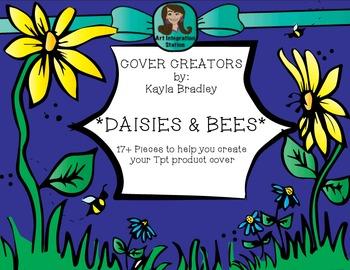 Spring Clip Art *Daisies & Bees*