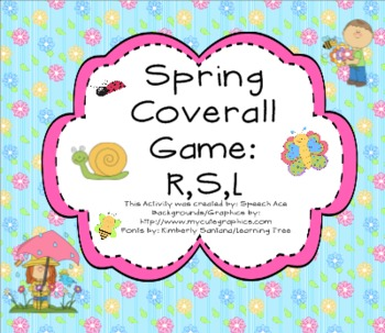 Spring Coverall: R,S,L
