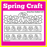 Spring Craft Craftivity Preschool Kindergarten