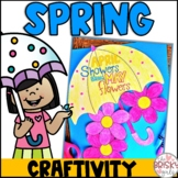 Spring Craft- April Showers Bring May Flowers