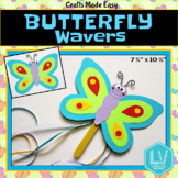 Spring Craft: Butterfly Craft