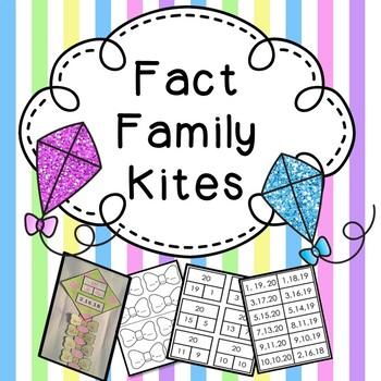 Spring Craft Fact Family Kites