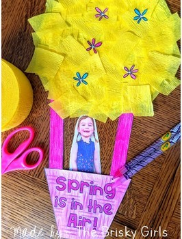 Spring Craft Hot Air Balloon