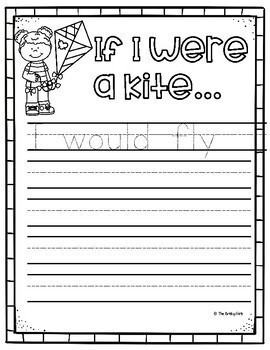 Spring Craft- If I Were a Kite