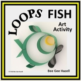 LOOPS FISH  Fraction Craft  (art activity with a little bit of math)