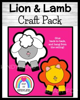 Spring Craft: Lion and Lamb