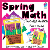 Spring Craft - Math Activity - Two-Digit Addition