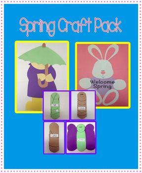 Spring Craft Pack - 3 Craft Bundle