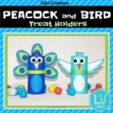 Spring Craft - Peacock & Bird