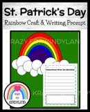 Saint Patrick's Day, Spring Craft and Writing for Kindergarten: Rainbow