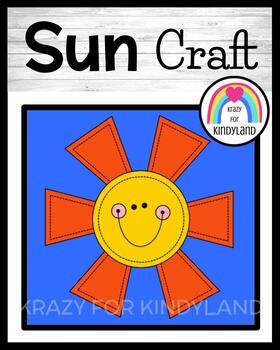 Spring, Summer, Weather Craft: Sun