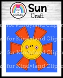 Spring, Summer Weather Activity with Sun Craft for Science Center