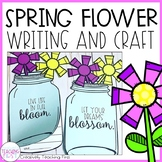 Spring Writing Craft- Mason Jar Flowers