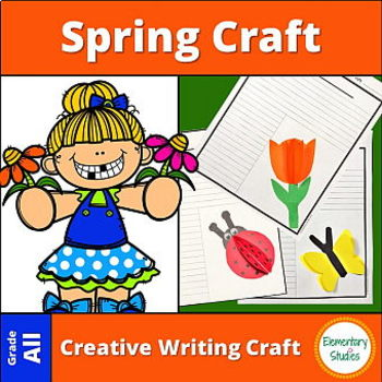 Spring Craft and Writing Templates