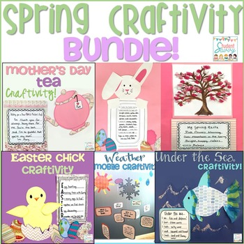 Spring Craftivity BUNDLE!
