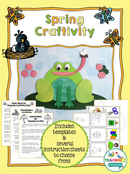 Spring Speech and Language Activities