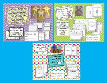 Spring Craftivity and Writing Activity Bundle