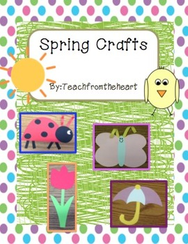 Spring Crafts (4 Crafts!)