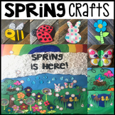 Spring Crafts and Activities for Preschool and Kindergarten (Visual Directions)