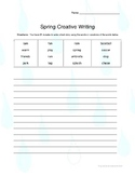 Spring Creative Writing