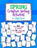 No Prep Spring Creative Writing Activities & Handouts