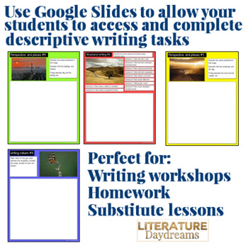 Digital Writing Prompts for Spring