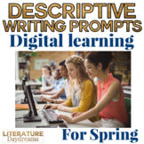 Creative Writing Activity Digital Learning pack: Spring