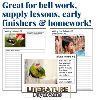 Spring Writing Prompts for teens