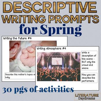 Creative Descriptive Writing pack: Spring