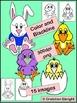Spring Critters Clip Art Set - Bunnies, Chicks, Ducks